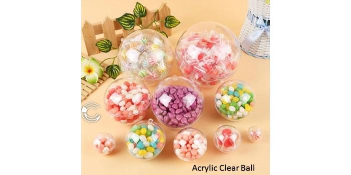 Acrylic Fillable Ball